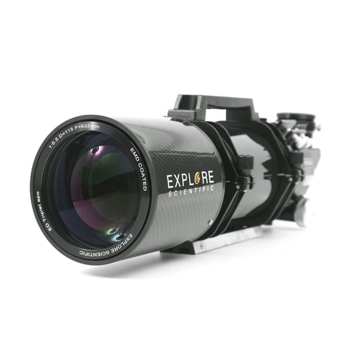 "ED115 FPL53 115mm f/5.5 Air-Spaced Triplet ED APO Refractor Telescope in Carbon Fiber with 3"" HEX Focuser"
