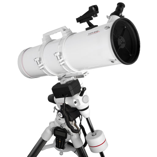 Explore FirstLight 150mm Newtonian Telescope with EXOS2GT GoTo Mount - FL-N150750EXOS2GT