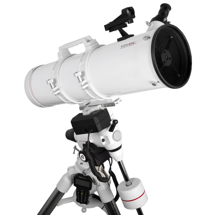 Explore FirstLight 150mm Newtonian with EXOS2GT GoTo Mount - FL-N150750EXOS2GT