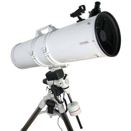 Explore FirstLight 203mm Newtonian Telescope with EXOS2GT GoTo Mount - FL-N2031000EXOS2GT