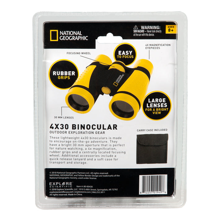 National Geographic 4x30 Binocular - ASTRA 2020