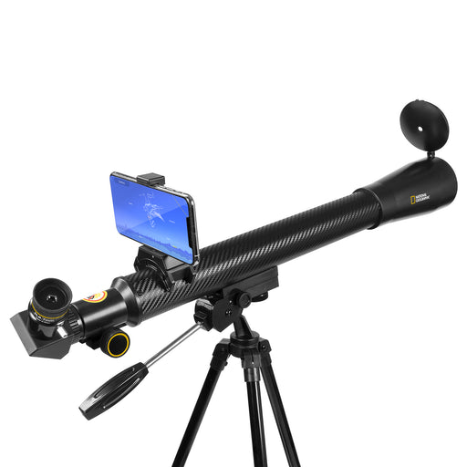 National Geographic StarApp50- 50mm Refractor Telescope w/ Astronomy APP