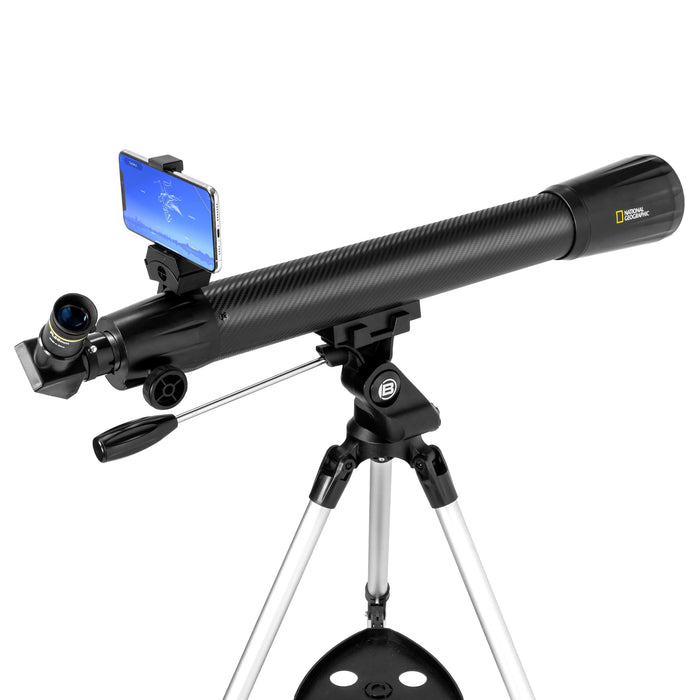 National Geographic StarApp70 - 70mm Refractor Telescope w/ Astronomy APP