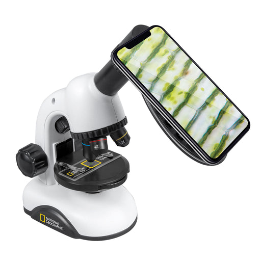 National Geographic 40x-640x Zoom Microscope with Smartphone Adapter