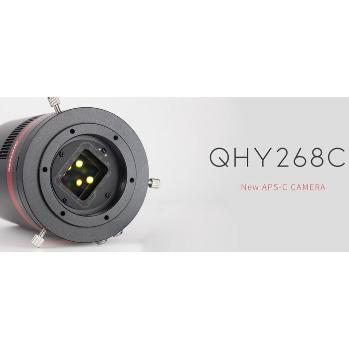QHY268M Cooled Monochrome CMOS Camera - APS-C FORMAT