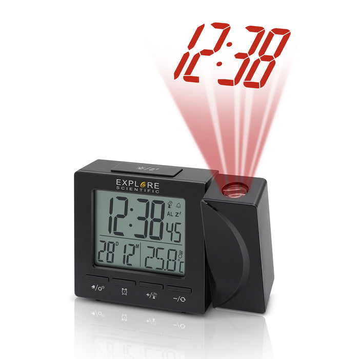 Explore Scientific Radio Controlled Projection Clock