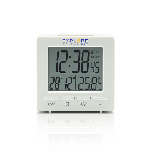 Explore Scientific Compact Radio Controlled Alarm Clock