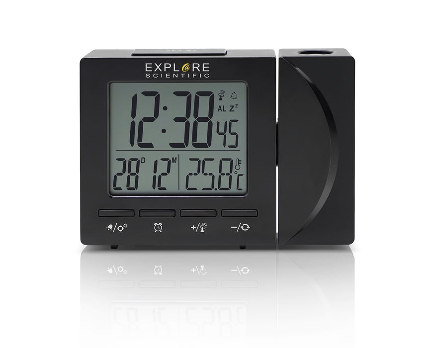 COMING SOON! Explore Scientific Radio Controlled Projection Clock