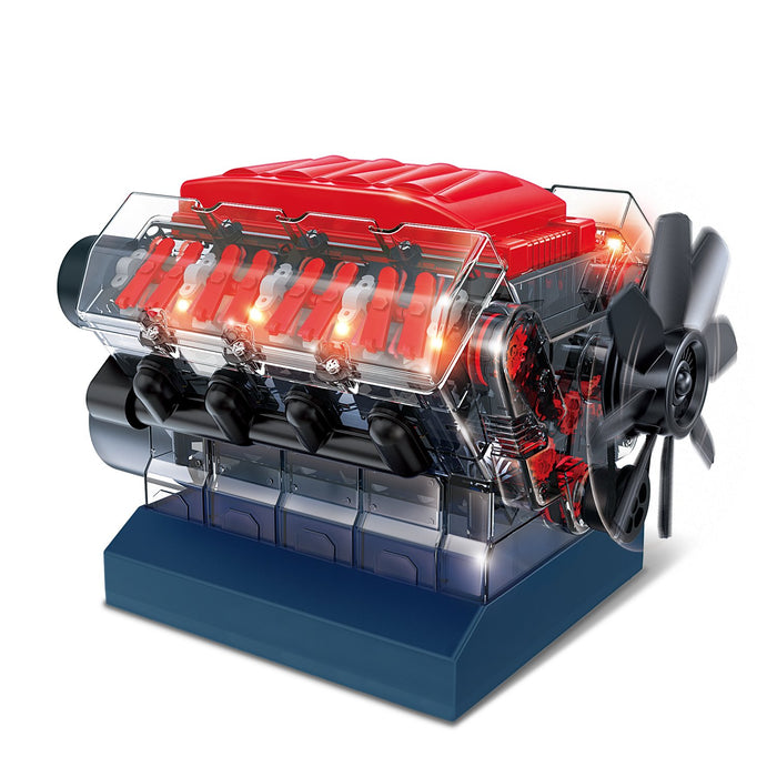 Explore One V8 Model Engine