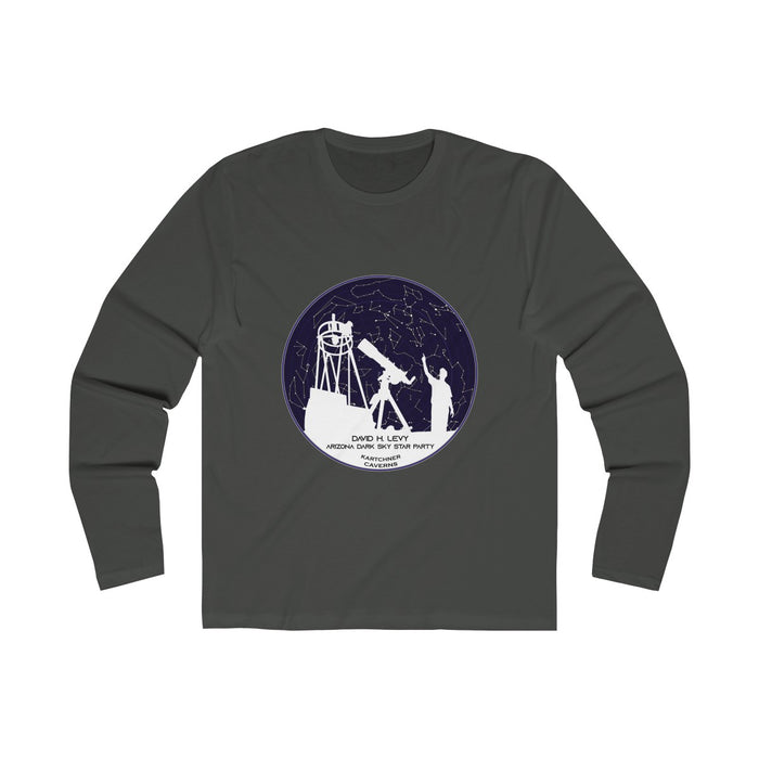 Arizona Dark Sky Star Party Men's Long Sleeve Crew Tee