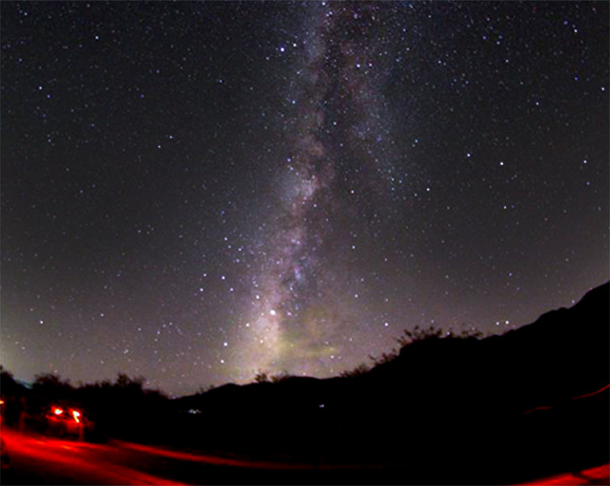 Milky Way taken from Kartchner Caverns State Park
