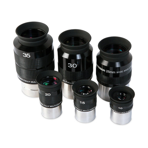 Bresser 6-Piece 70° Eyepiece Set - Auction