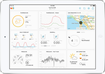 COMING SOON! Explore Scientific 7-in-1 WiFi Professional Weather Station with Weather Underground - WSX3001