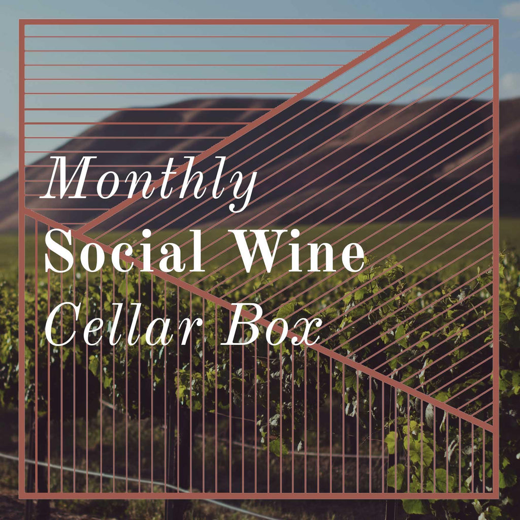 Social Wine Cellar Box Subscription (monthly price) - Social Wine