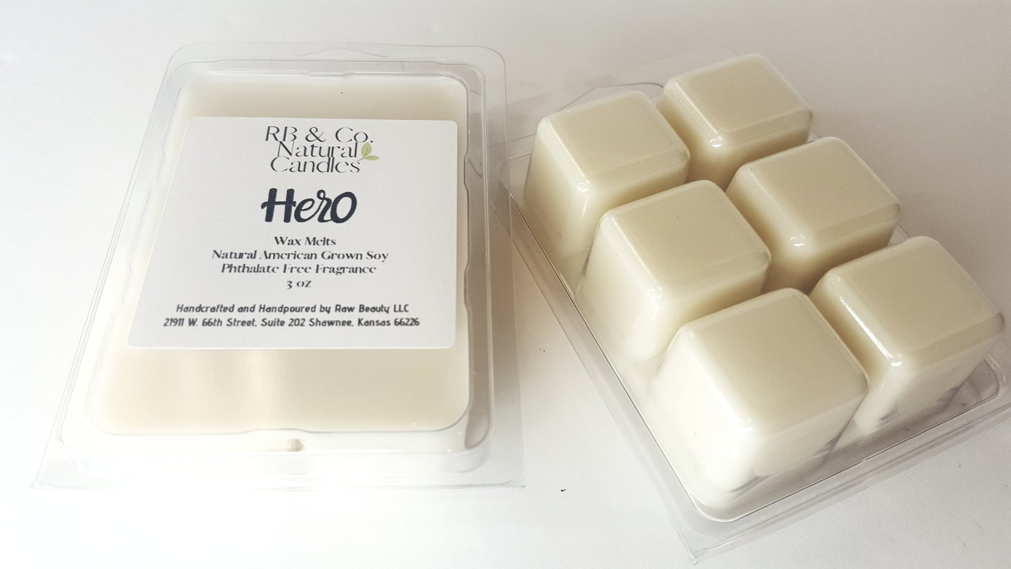 Hero | Natural Soy Candle | Hand-Poured
