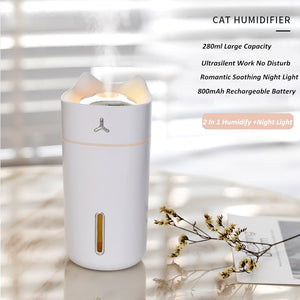 Cat Portable Air Humidifier