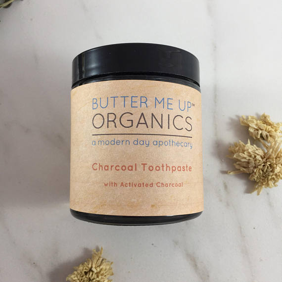 Organic Activated Charcoal Toothpaste