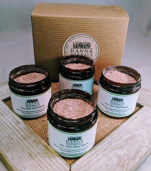 Dry Skin Mud Mask - face mask - clay - facial
