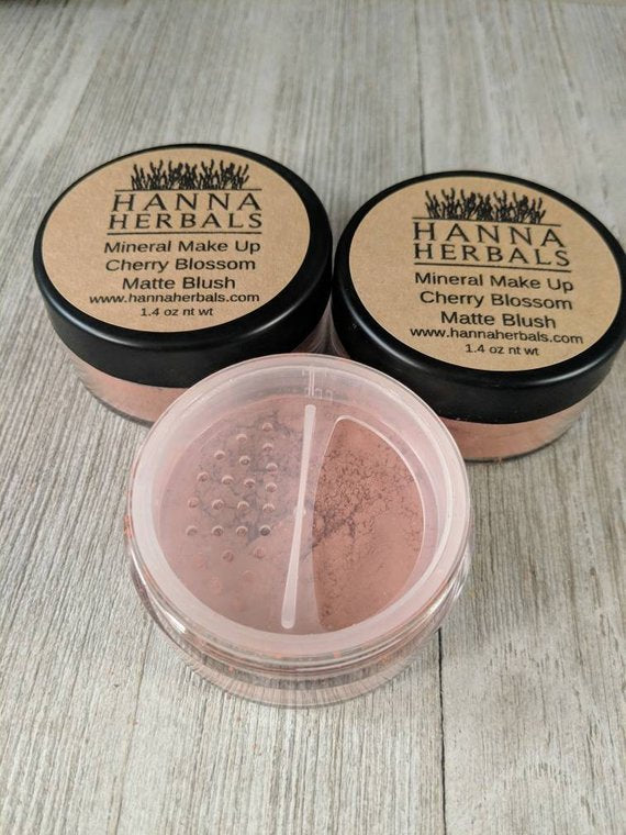 Blush 4 pack - Matte Blush - mineral makeup