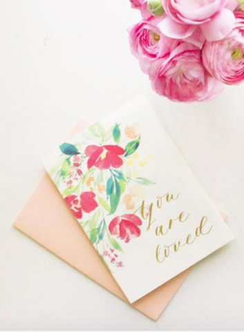 Watercolor Card by Jenna Rainey