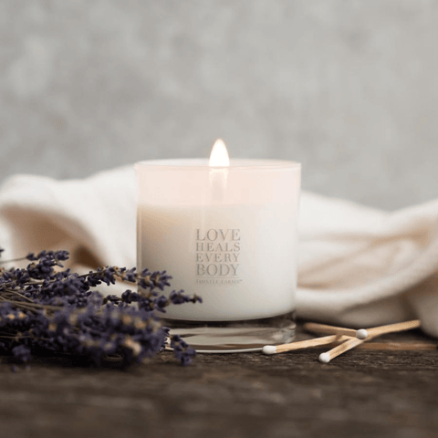 Love Heals Candle - Bulgarian Lavender Gift Items Purpose Jewelry Lavender