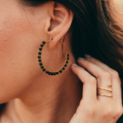Luni Hoops Earring Purpose Jewelry