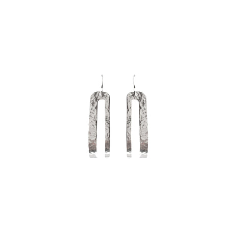 Splendid Hoops Earring Purpose Jewelry Silver Tone