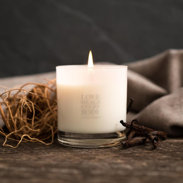 Love Heals Candle Gift Items Purpose Jewelry Vanilla Vetiver
