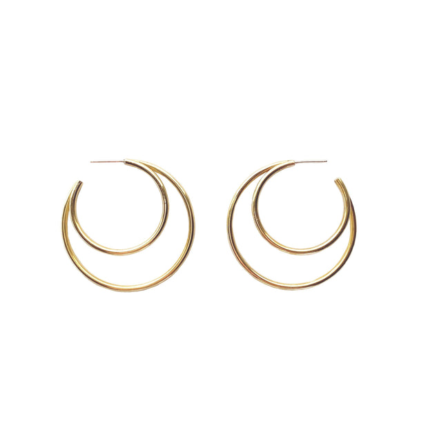 New Verve Hoops add a modern twist to the classic hoop earrings