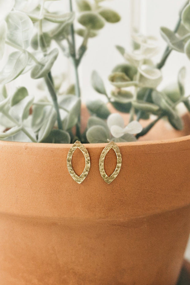 Addison Studs - Ethically Handmade earrings that give back to charity