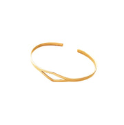 Allure Cuff Bracelet Purpose Jewelry Brass
