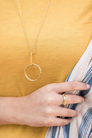 Alta Necklace - Ethically handcrafted necklace that gives back to non-profit