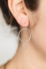 Annelise Earrings - ethically handcrafted earrings that give back to non-profit