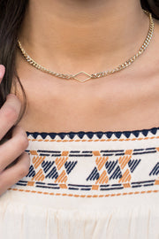 Arizona Choker Necklace - ethically handcrafted necklace that gives back to non-profit
