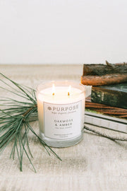 Oakmoss & Amber Candle