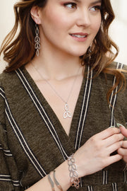 Catalina Necklace - ethically handcrafted necklace that gives back to non-profit - International Sanctuary