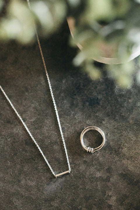 Alana Ring - ethically handcrafted ring that give back to non-profit