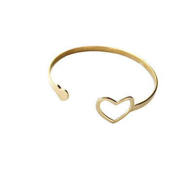Miracle Heart Cuff Bracelet Purpose Jewelry Brass