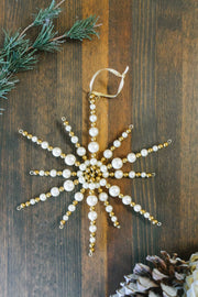Noel Star Ornament