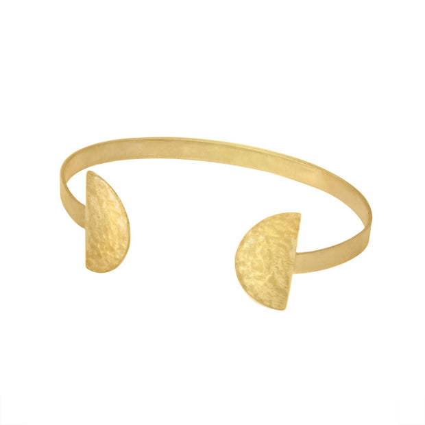 Prima Cuff Bracelet Purpose Jewelry Brass