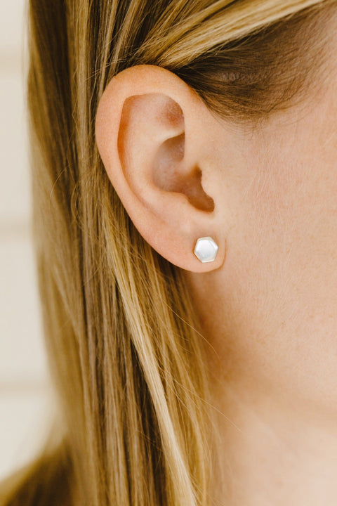 Reflection Studs Earring Purpose Jewelry