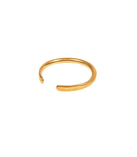 Handcrafted Brass Stacking Ring