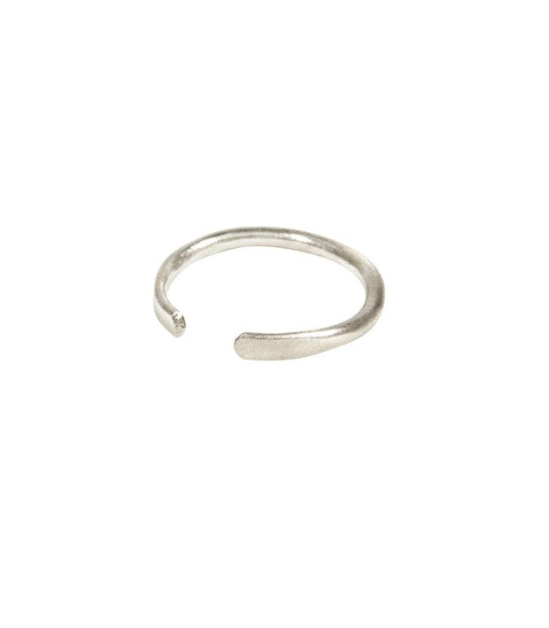 Handcrafted Silver Stacking Ring