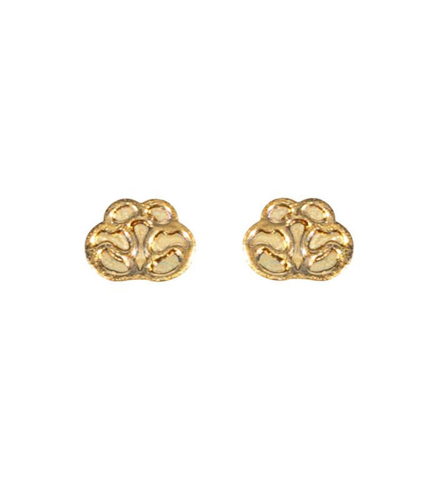 Handcrafted 14K Gold Studs