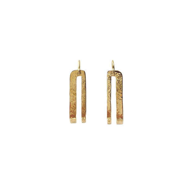 Splendid Hoops Earring Purpose Jewelry Brass