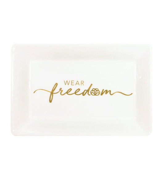 Wear Freedom Jewelry Dish