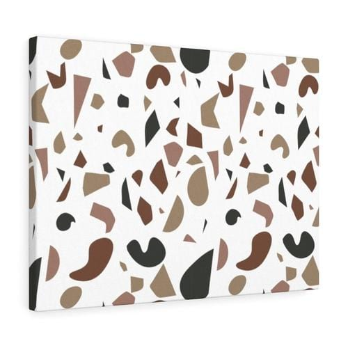 """Shades of Brown"" Abstract Canvas - Culture+Bloom"
