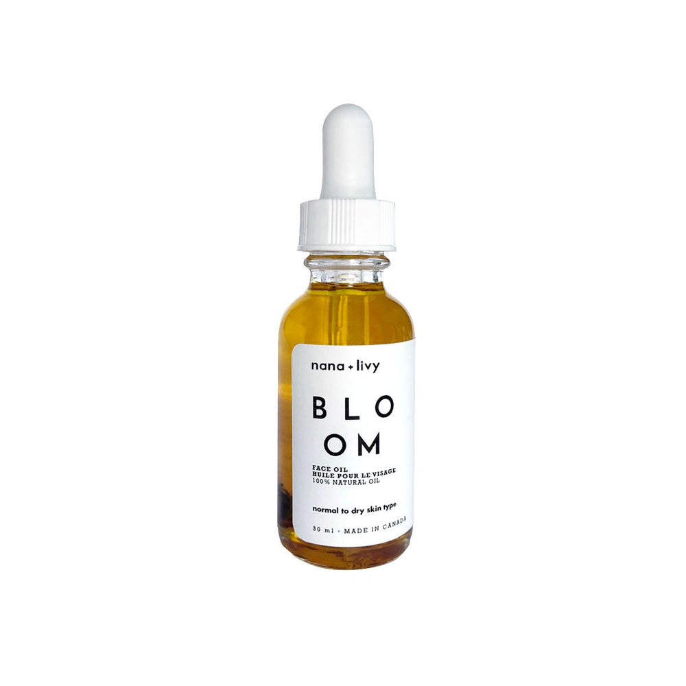 Bloom Face + Body Oil Face and Body Oil Rose, Jojaba Oil, Lavender Oil, Essential Oils