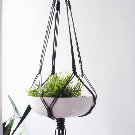 Vintage Macrame Plant Hanger - Culture+Bloom