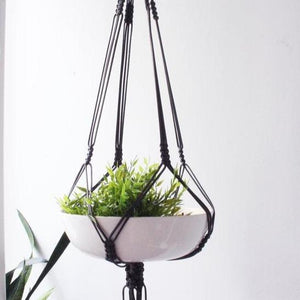 Load image into Gallery viewer, Vintage Macrame Plant Hanger - Culture+Bloom